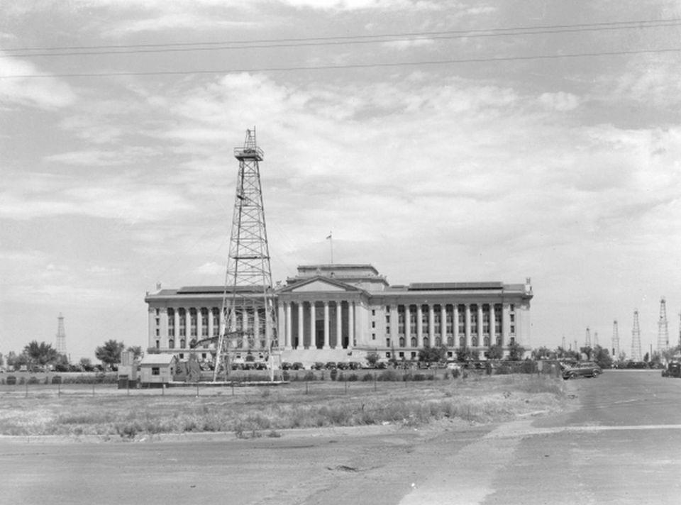 Historic Oklahoma City Capitol
