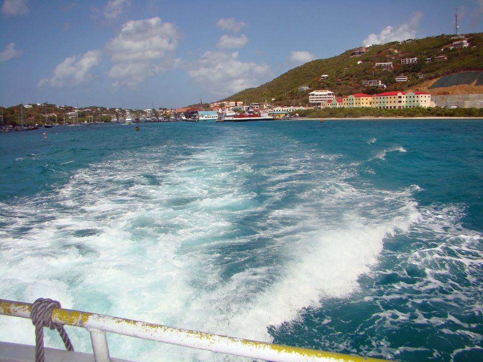 Leaving Red Hook, U.S. Virgin Islands