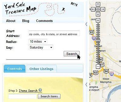 Yard Sale Treasure Map screen shot