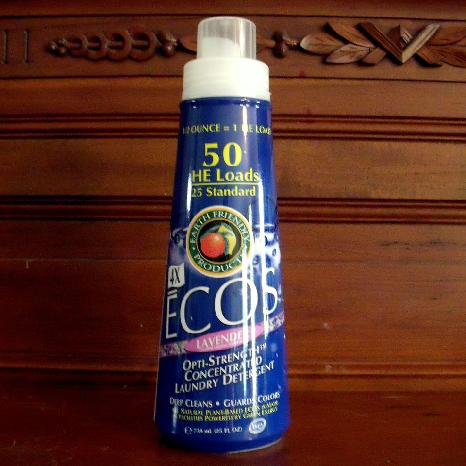 Product Review of Ecos 4X Laundry Detergent