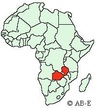 Maps And Locations Of African Countries - Where is zambia
