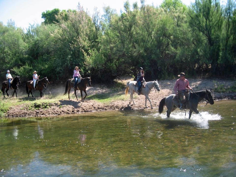 Horseback Riding at Fort McDowell Adventures