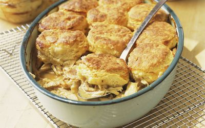 Try This Gluten Free Chicken Pot Pie With Biscuit Top Recipe