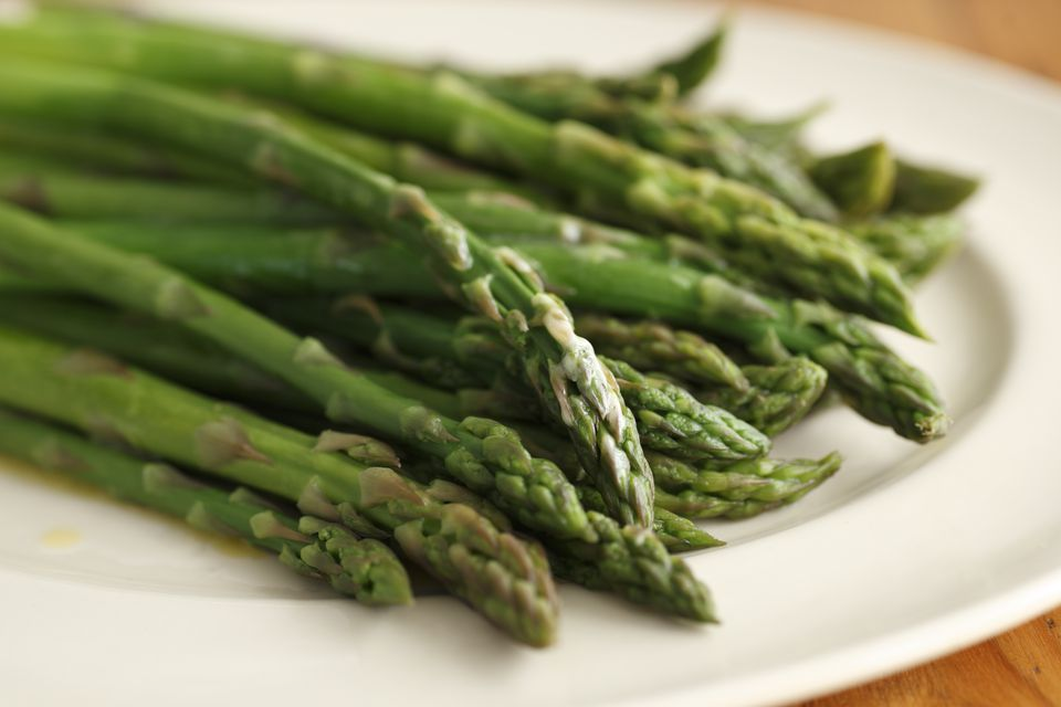 Freshly Cooked Asparagus