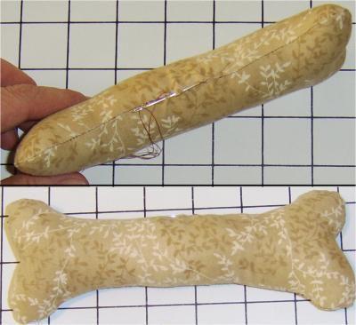 Dog Bone Dog Toy Free Sewing Pattern
