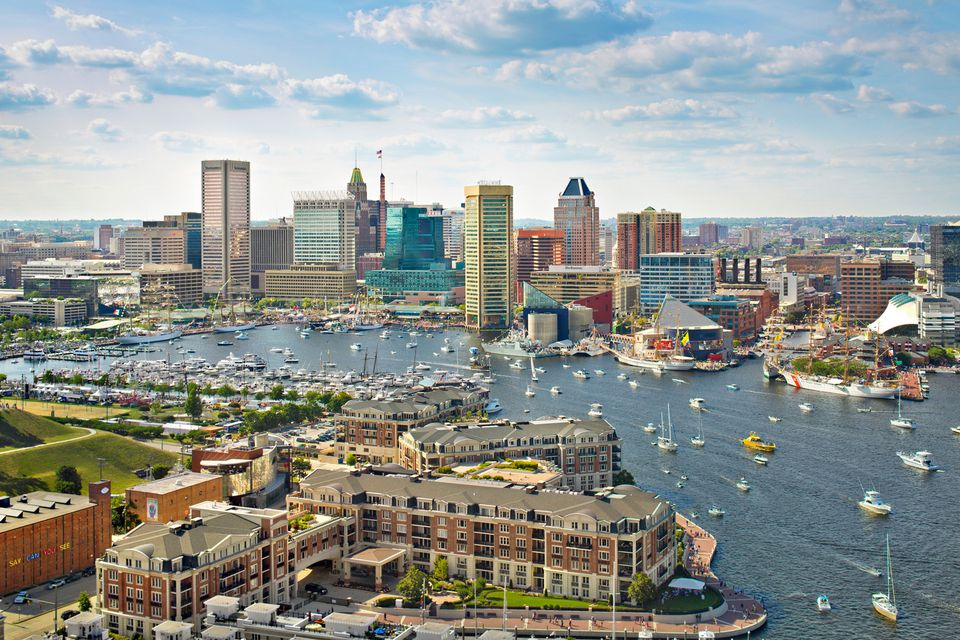Baltimore Harbor Food Places