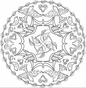 coloring pages for adults from faber castell - Downloadable Coloring Pages