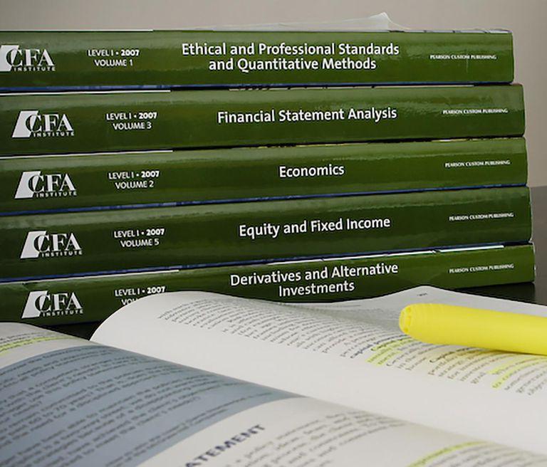 CFA study materials