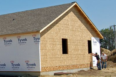 How to perform a time impact analysis in construction for Sheathing house wrap