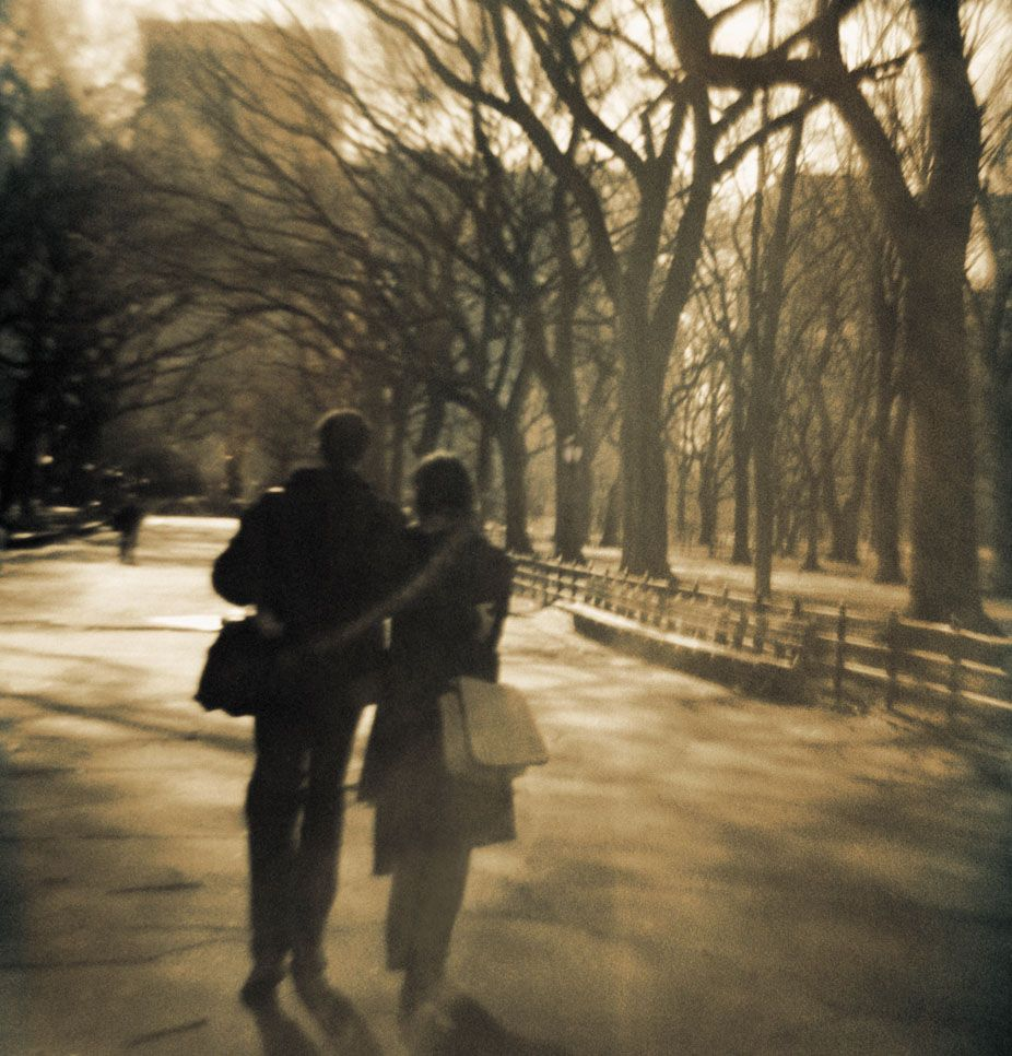 Couple in Central Park