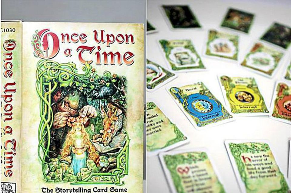 Once Upon a Time: They Storytelling Card Game