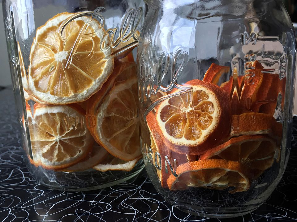 Dehydrated citrus