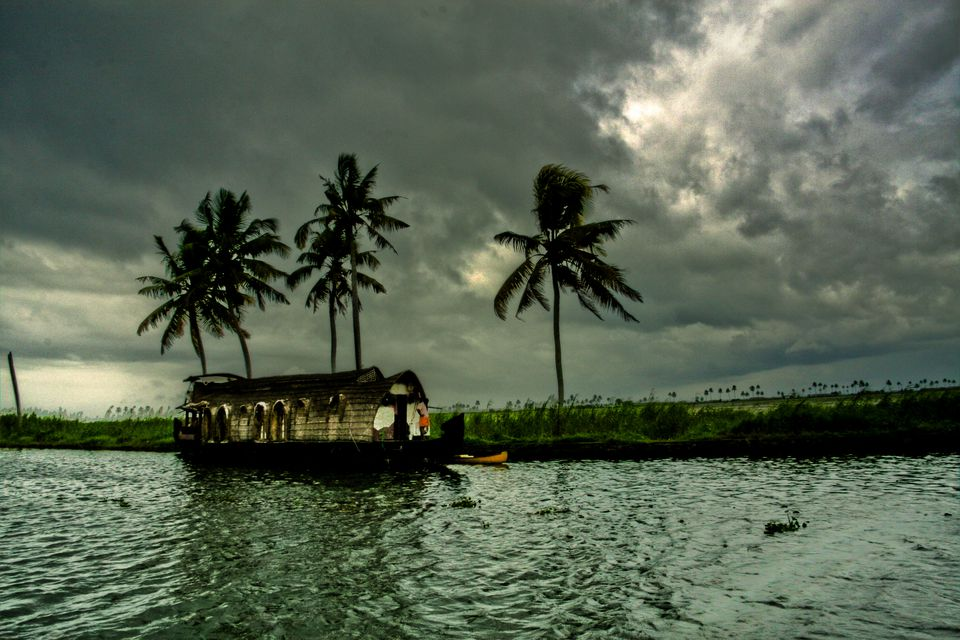 Kerala during the monsoon.