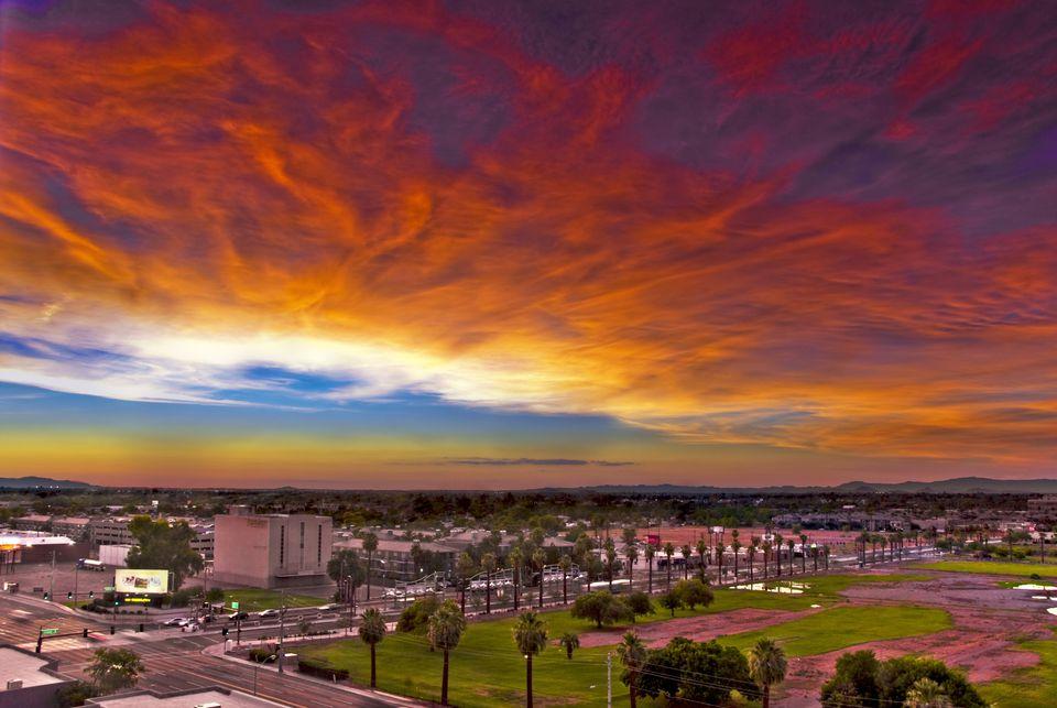 Sunset in Phoenix