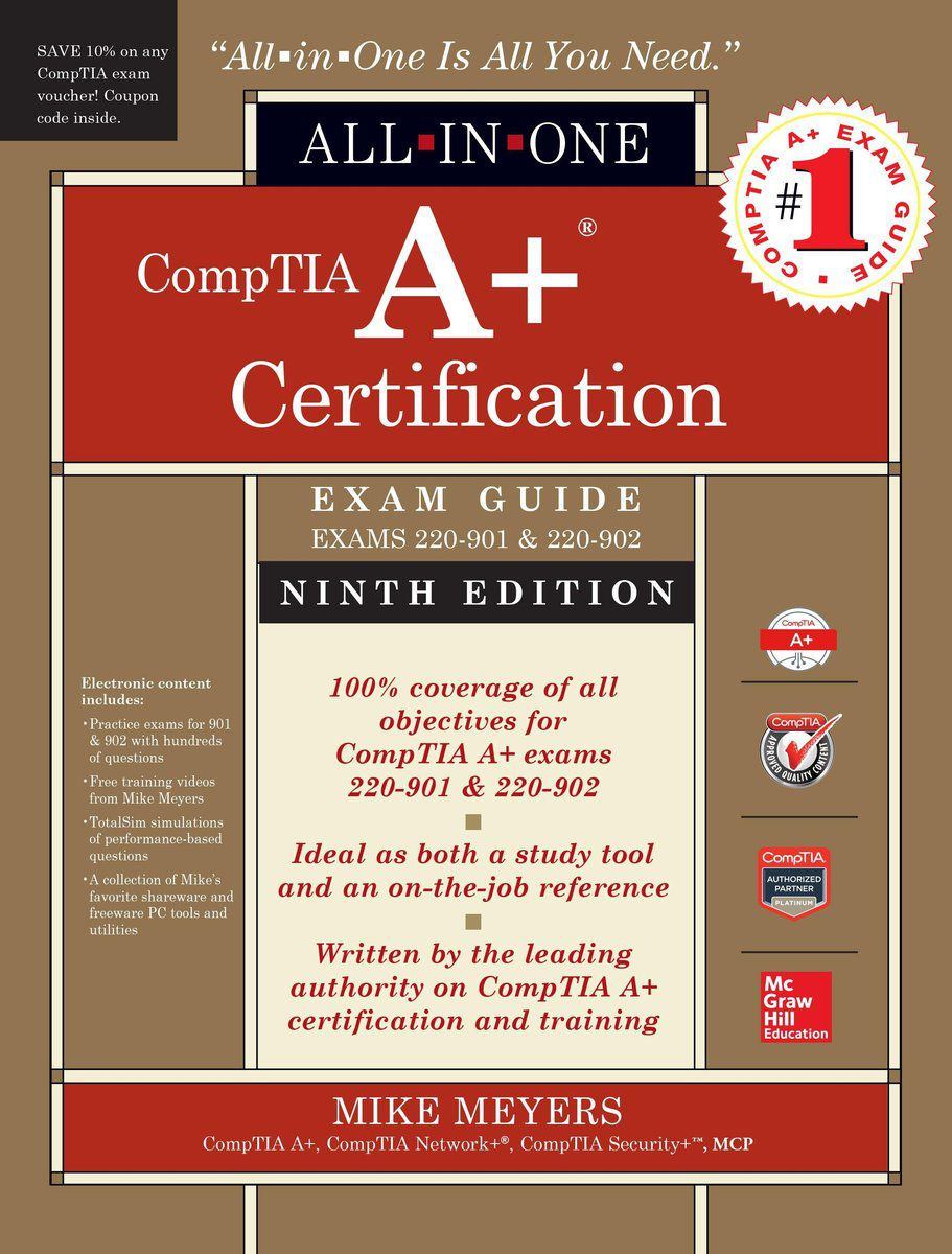 Microsoft certified professional mcp training comptia a certification all in one exam guide mike meyers xflitez Image collections