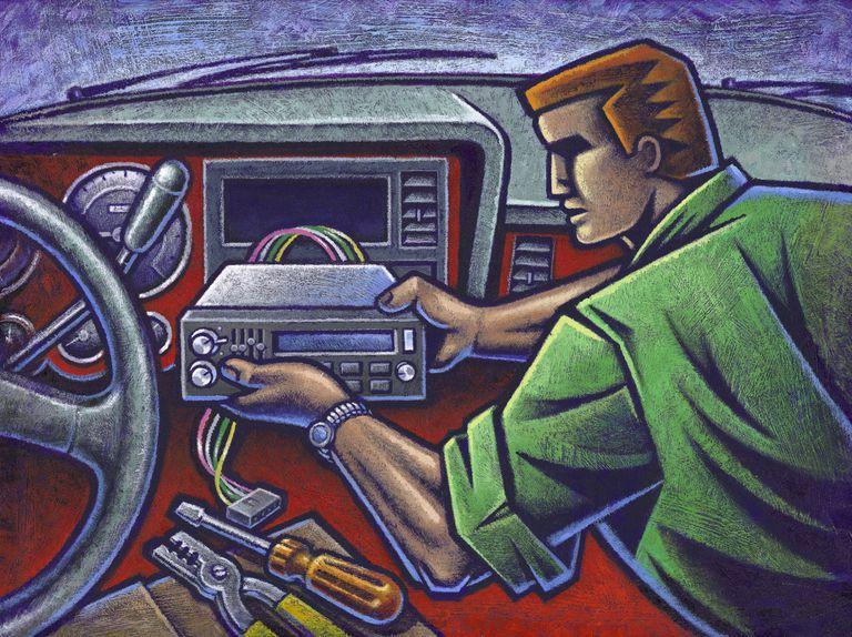 installing a car radio