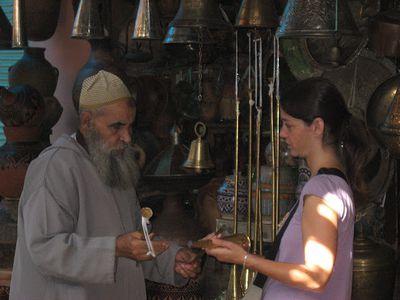 Anouk in Marrakech