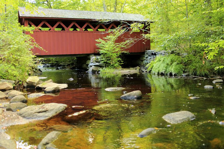 Covered Bridge - Chatford Hollow State Park CT