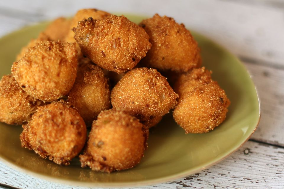 fried hush puppies