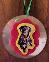 CD Photo Ornament Craft