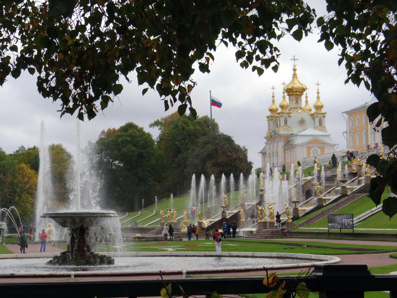 Peterhof Peter The Great S Palace Near St Petersburg