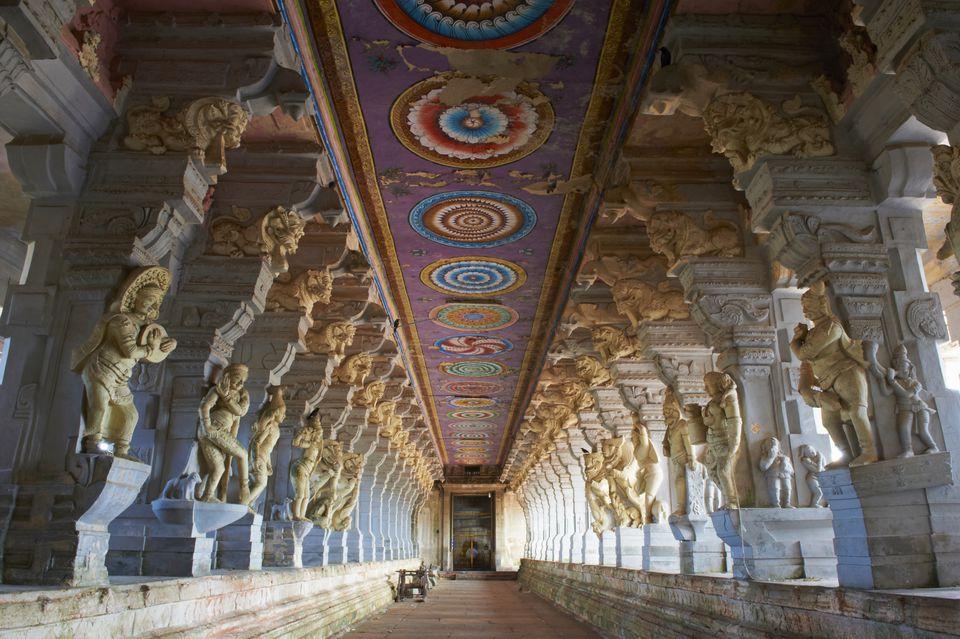 Rameshwaram temple.