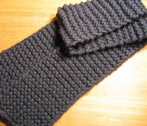 Knit A Simple Scarf Out Of Fun Fur Eyelash Yarn