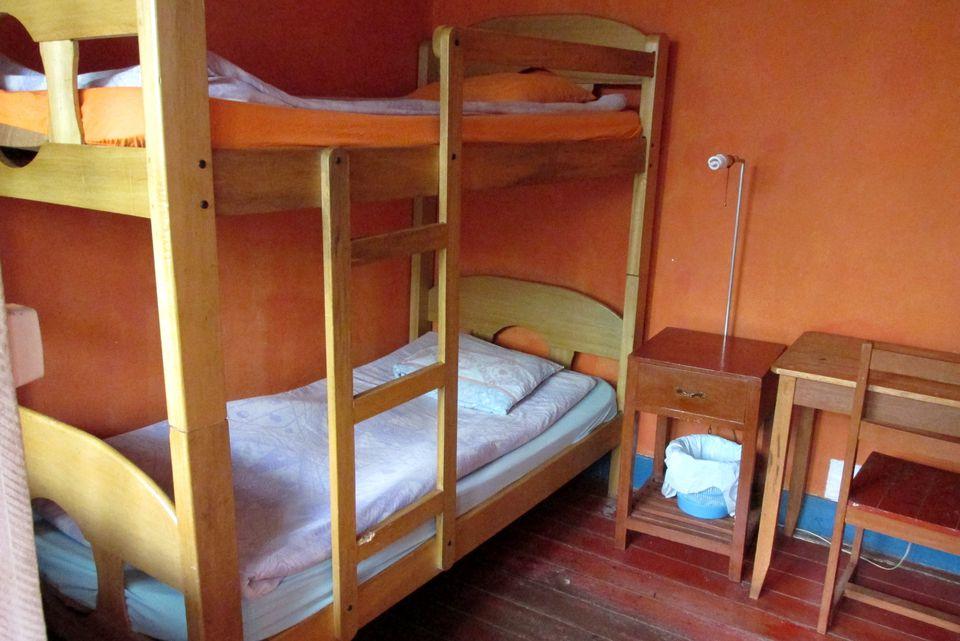 Hostel room in Peru