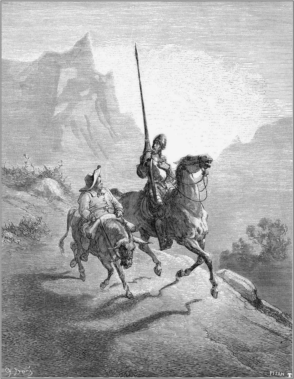 don quixote literature essays Don quixote has appeared to be a true heroic figure for people, who see him as someone who fights against evil for the cause of dignified goals, and whose.