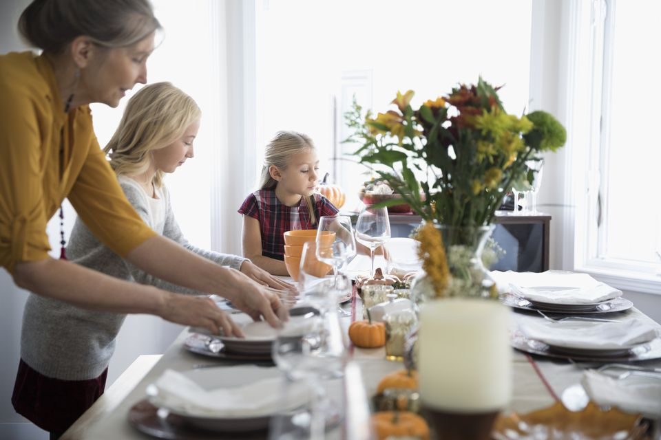 Dining Table Setting Etiquette