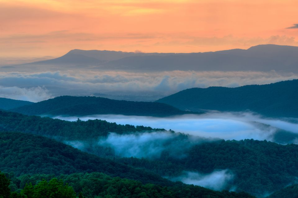 Shenandoah National Park.
