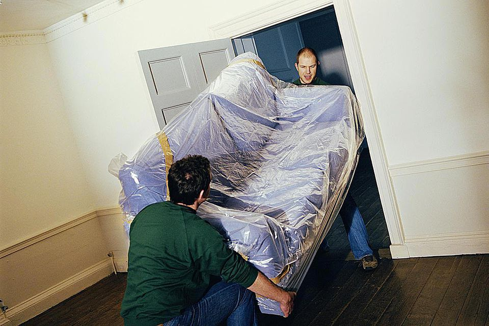 Getting A Couch Through A Narrow Door When Moving House