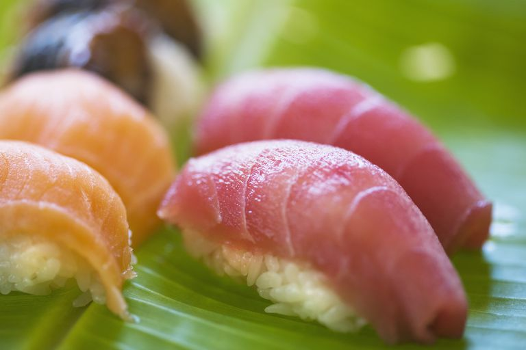 Tuna and salmon are high in omega-3 fatty acids.