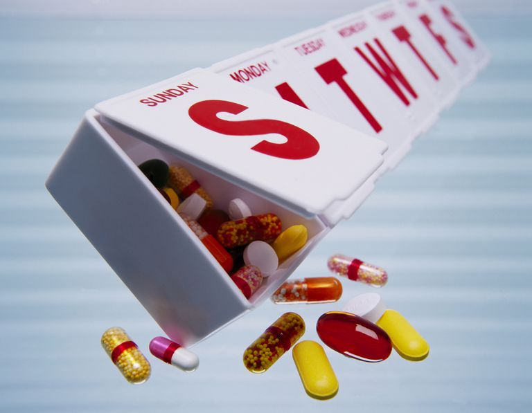 A Pill Box Is One of the Simplest Ways to Keep Medicines Organized