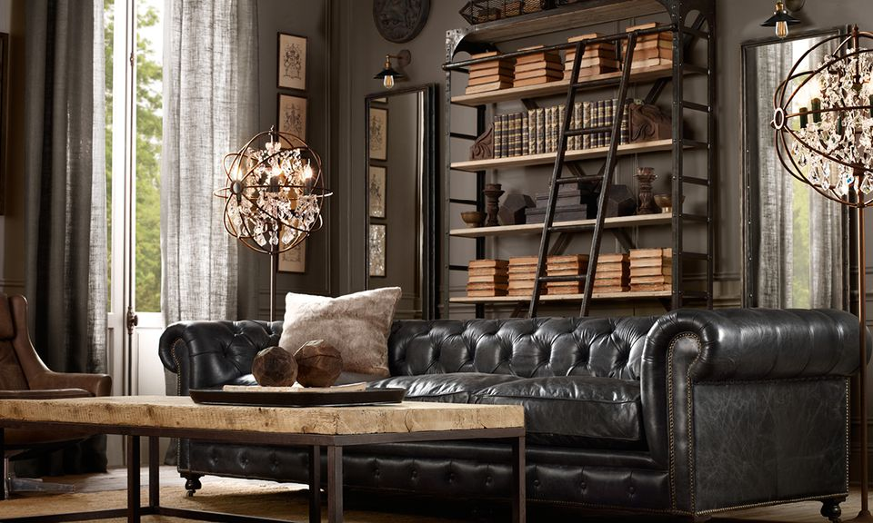 masculine furniture. How To Make A Room Look More Masculine Furniture