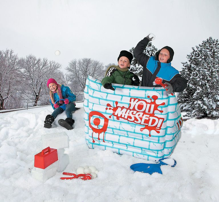 Inflatable Snow Fort