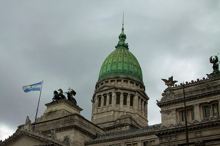 Congressional dome in Buenos Aires, Argentina