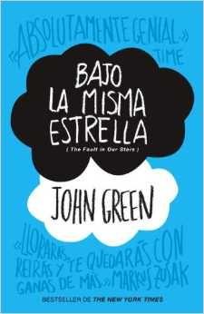 Bajo la misma estrella, de John Green libros para adolescentes