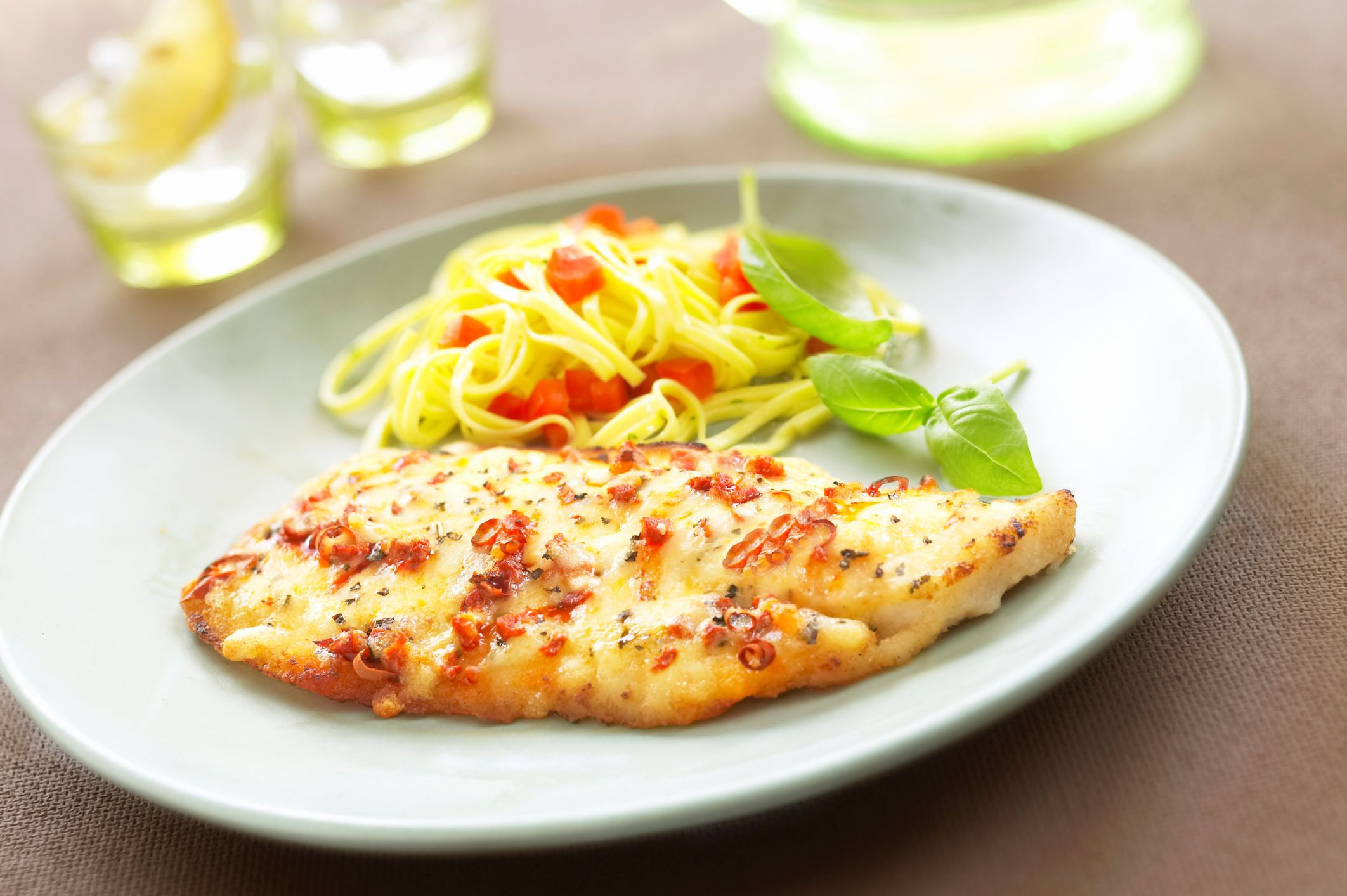 Broiled Tilapia Fillets With Lemon And Butter