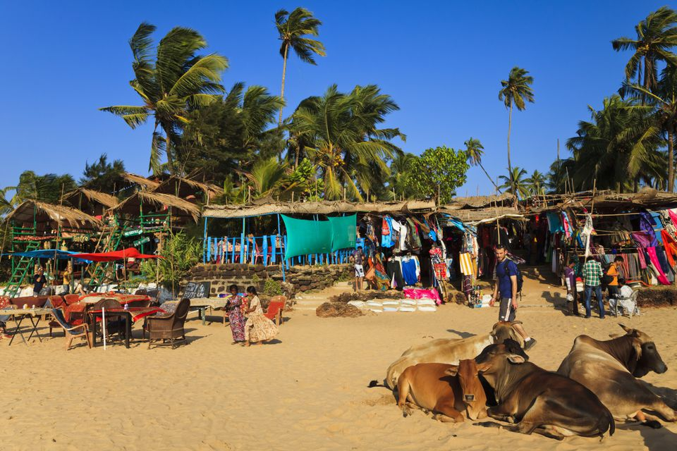 Anjuna Beach, Goa.