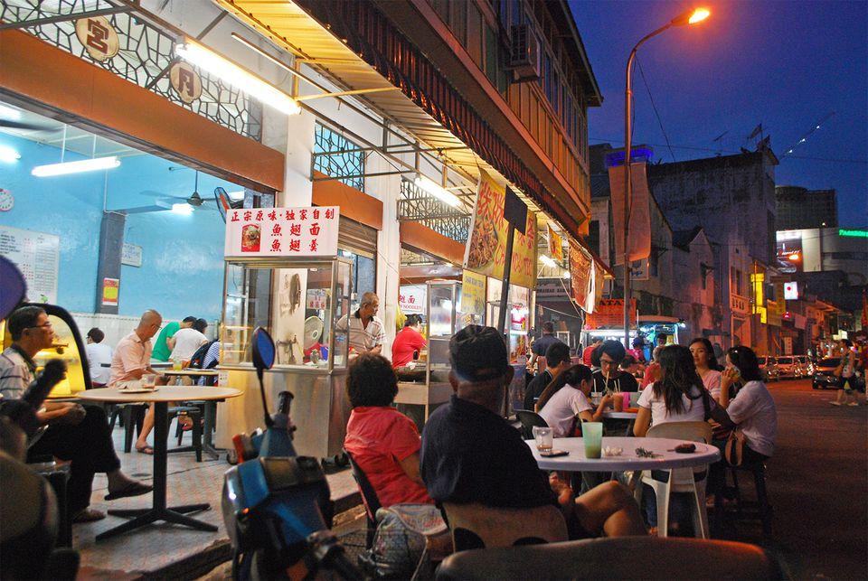 Kimberly Street Kopitiam, Penang, Malaysia