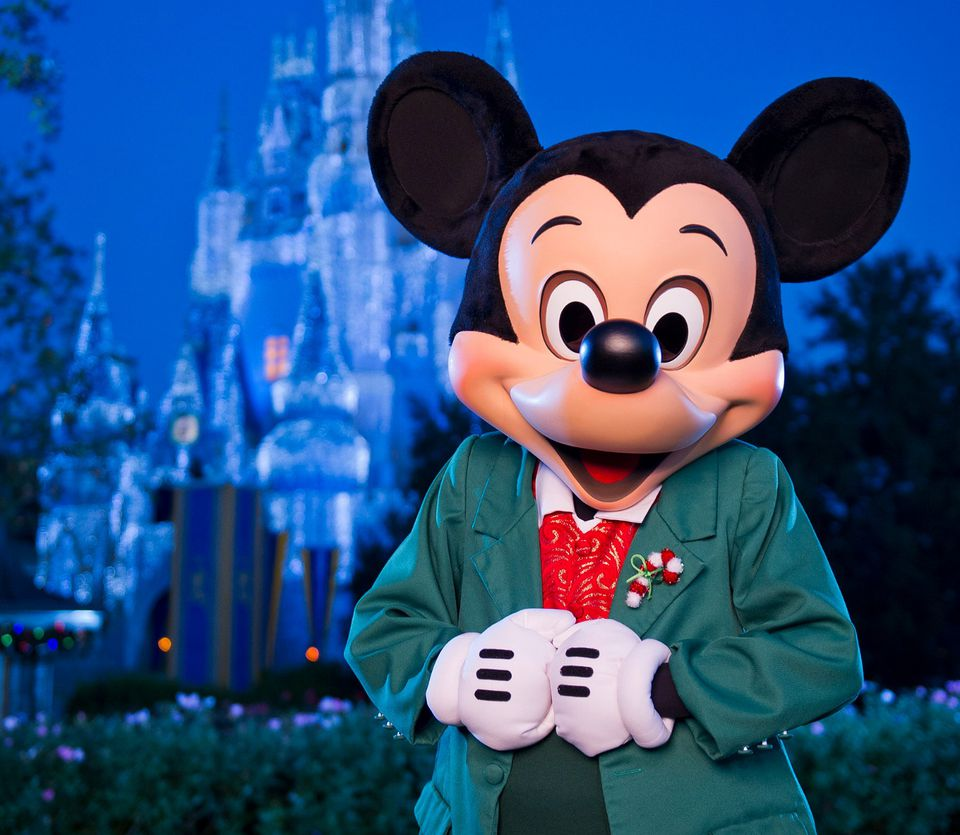 Micky Mouse at Christmastime
