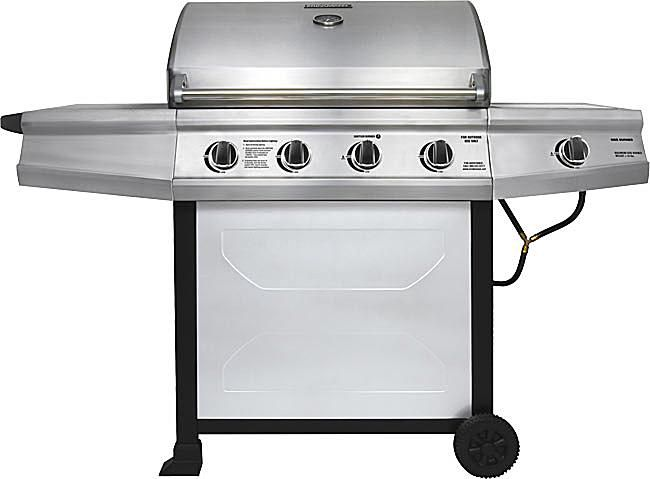 Brinkmann 4-Burner 48,000 BTU Gas Grill Model# 810-1415-W