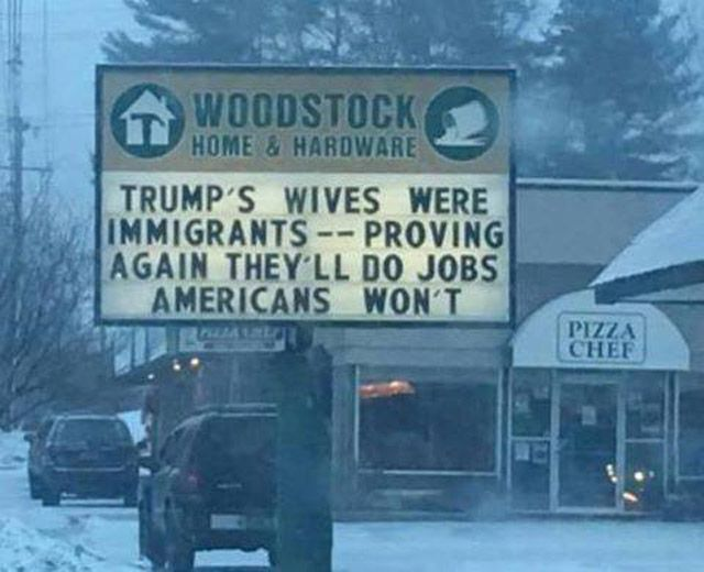 Trump Wives Immigrants