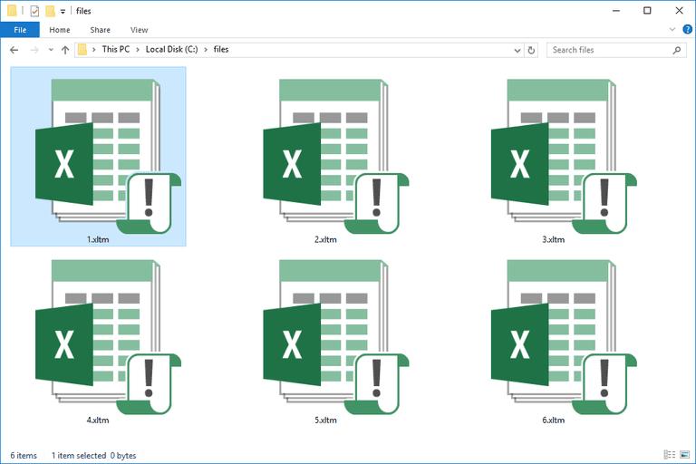 XLTM Files