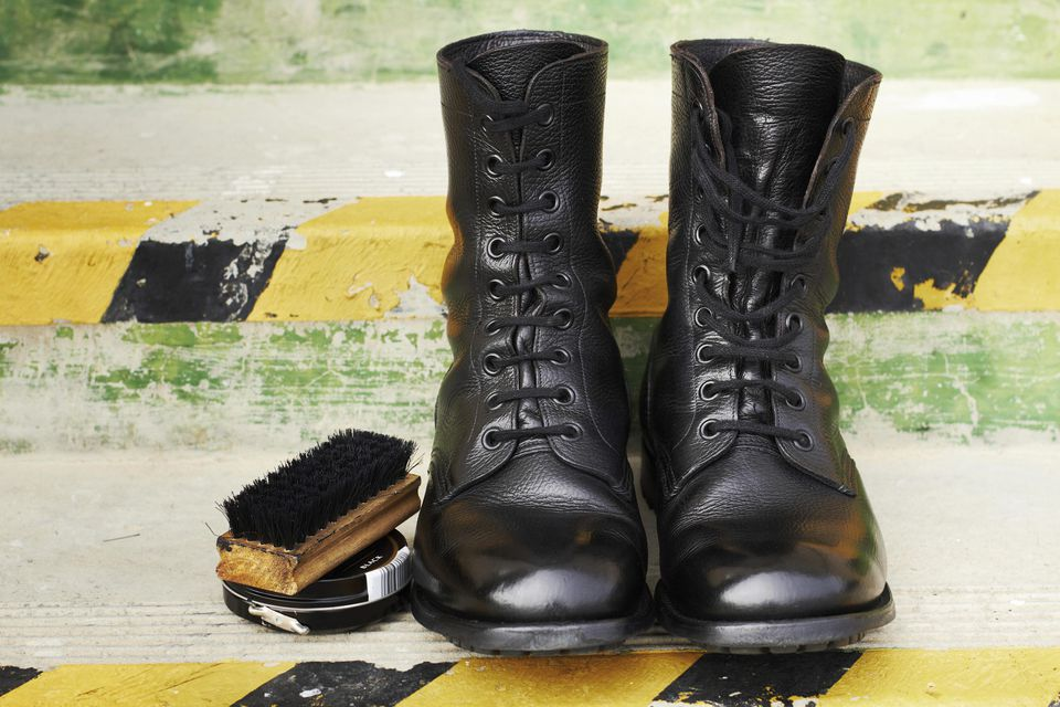 Shoe Polish Stains