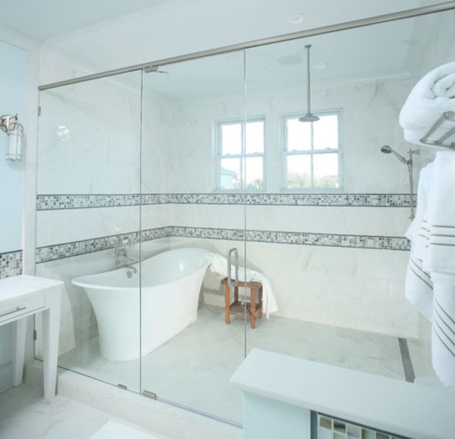 wet room style shower design - Shower Designs