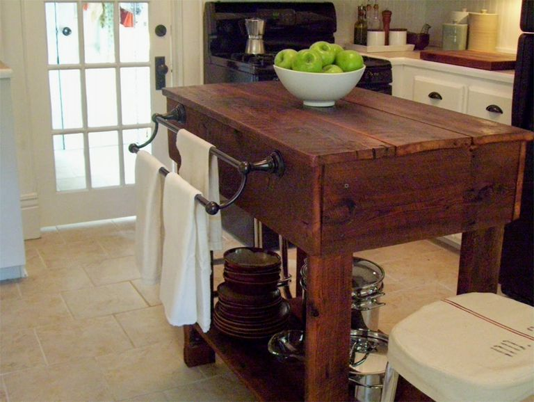 Free Kitchen Island Plan from Our Vintage Home Love
