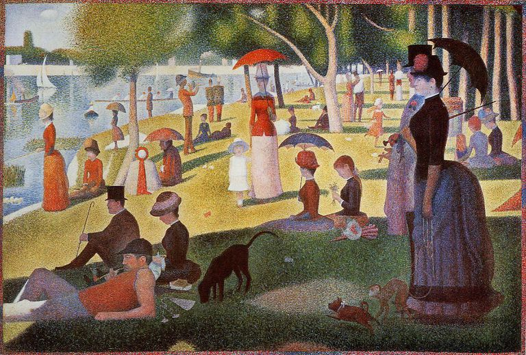 Sunday on the Island of la Grande Jatte by Georges Seurat