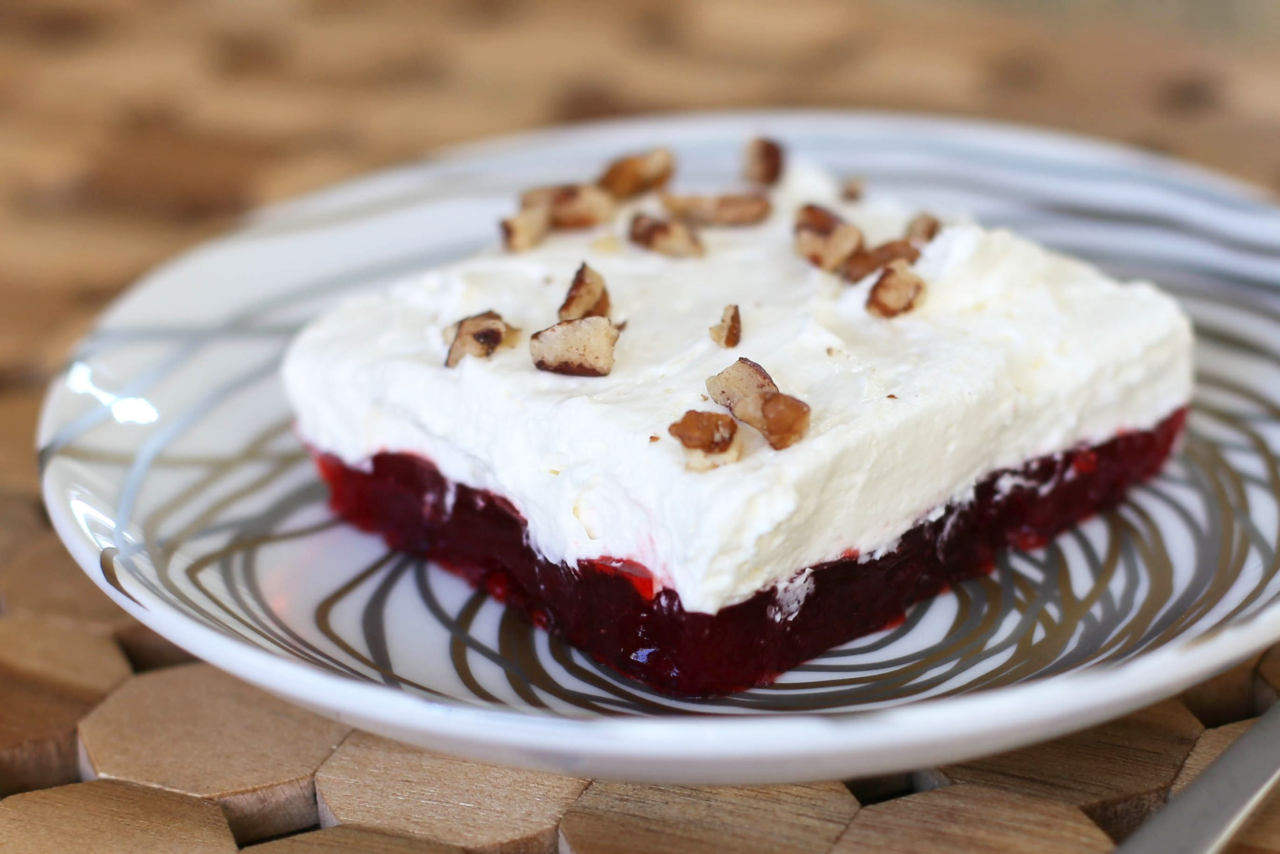 Cranberry Gelatin Salad Recipe Cream Cheese And Nuts